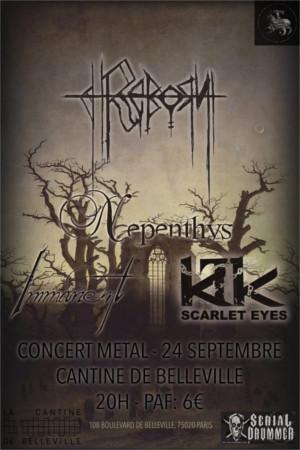 Reborn / Nepenthys / Immanent / Scarlet Eyes